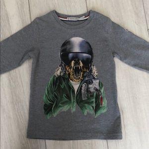 Kids Moncler shirt